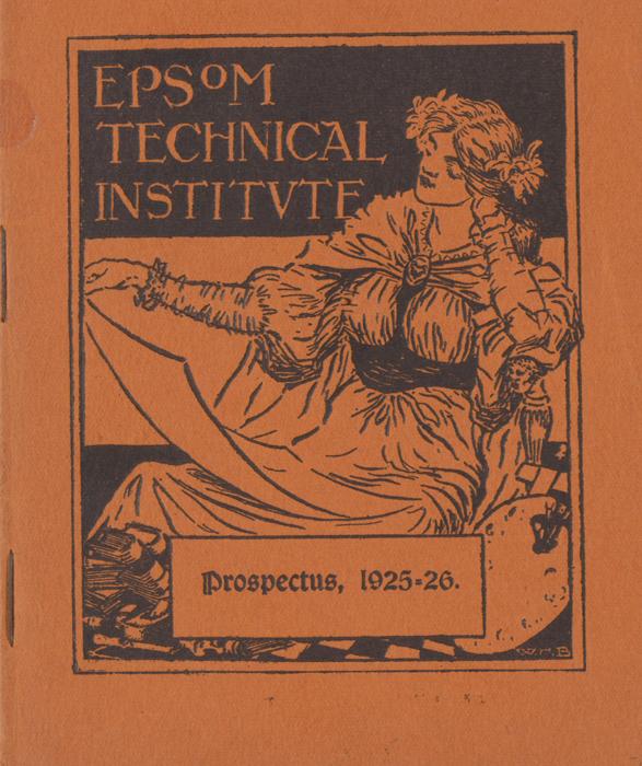 1925-1926 Epsom Prospectus