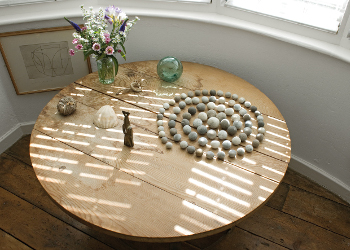 Image of Jim Ede's bedroom table