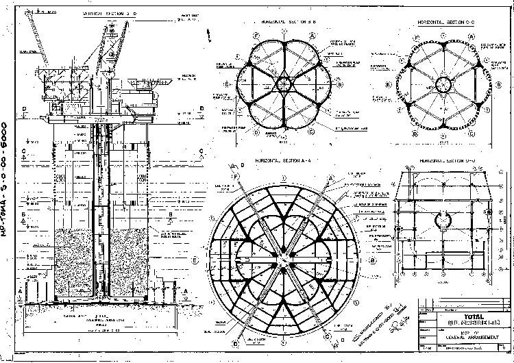 Drawing of the MCP-01 platform