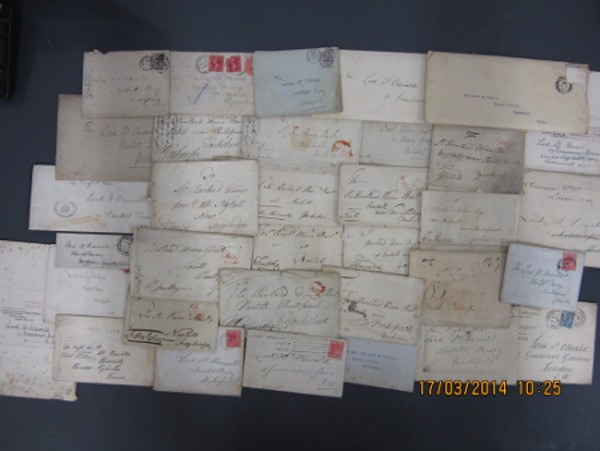 Photo showing Nostell correspondence