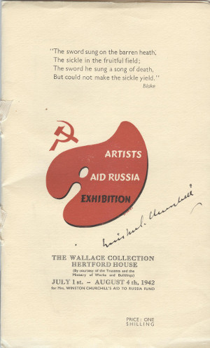 Image of exhibition catalogue, 1942