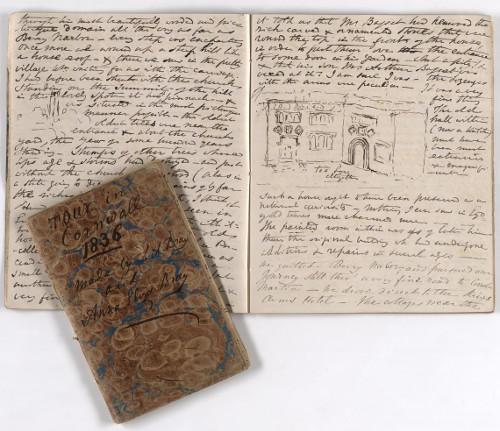 Anna Eliza Bray's travel journals of Cornwall and North Devon