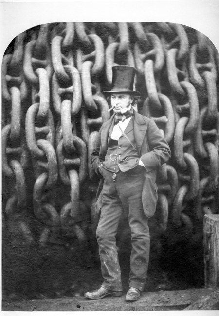 Photograph of Isambard Kingdom Brunel