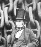 Isambard Kingdom Brunel, image from The Big Ship, Brunel's Great Eastern – a pictorial history by Patrick Beaver.   © Brunel University London
