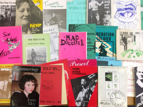 Photo of prose and poetry books