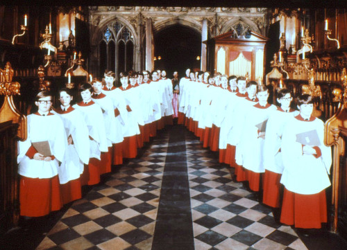 Choir of Magdalen College Oxford