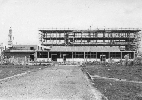 College of Art later known as Eldon Building under construction