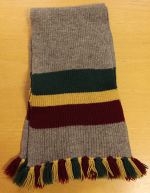 Barry Hines's school scarf