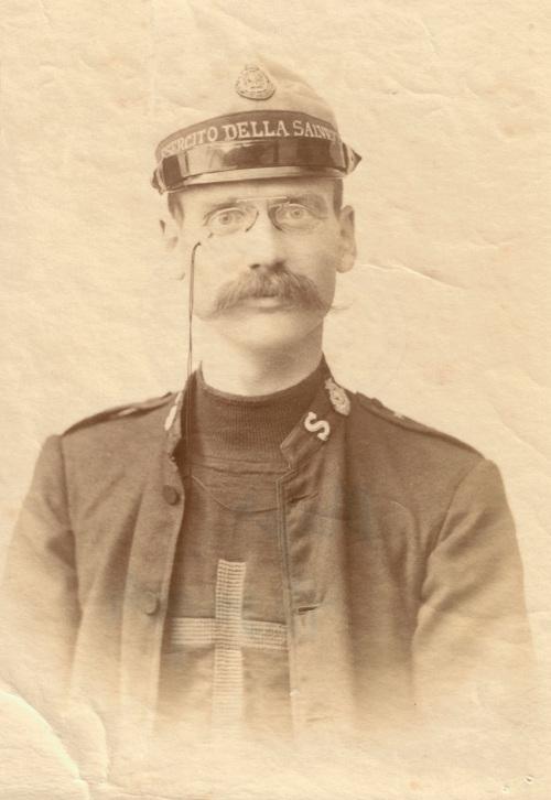 Captain Richard Greville Thonger, Italy, 1895