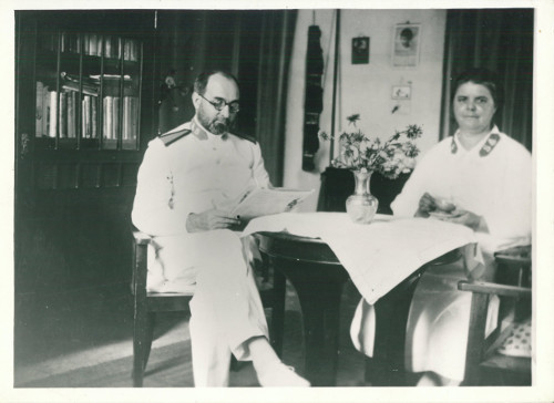Brigadier Leonard and Margaret Woodward, Java, 1930s