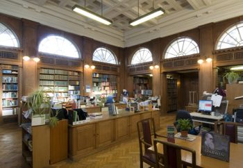 National Museum Wales library