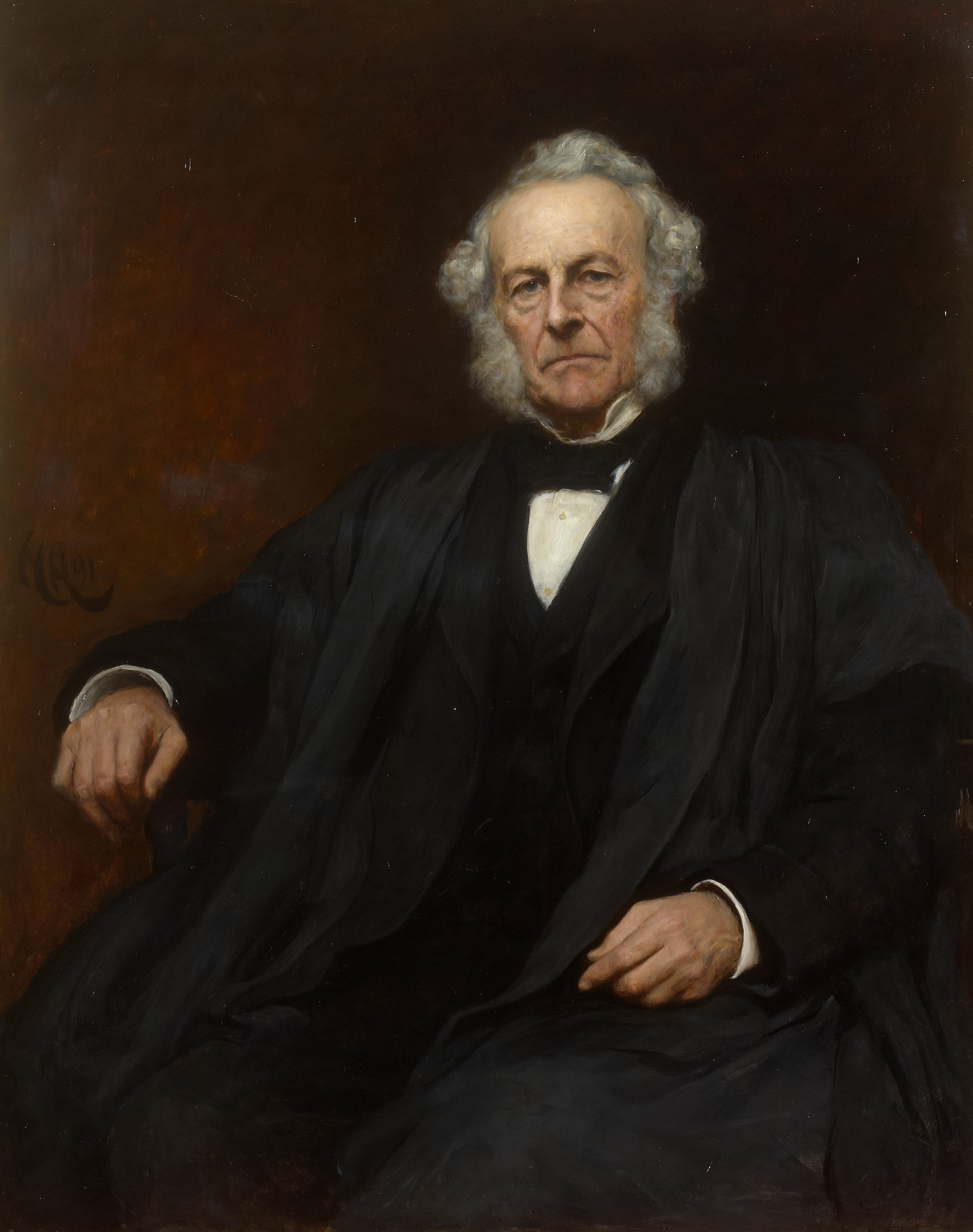 George Gabriel Stokes, secretary and editor of the Transactions 1854-85
