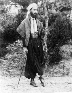Photo of Norman Penney in Eastern dress