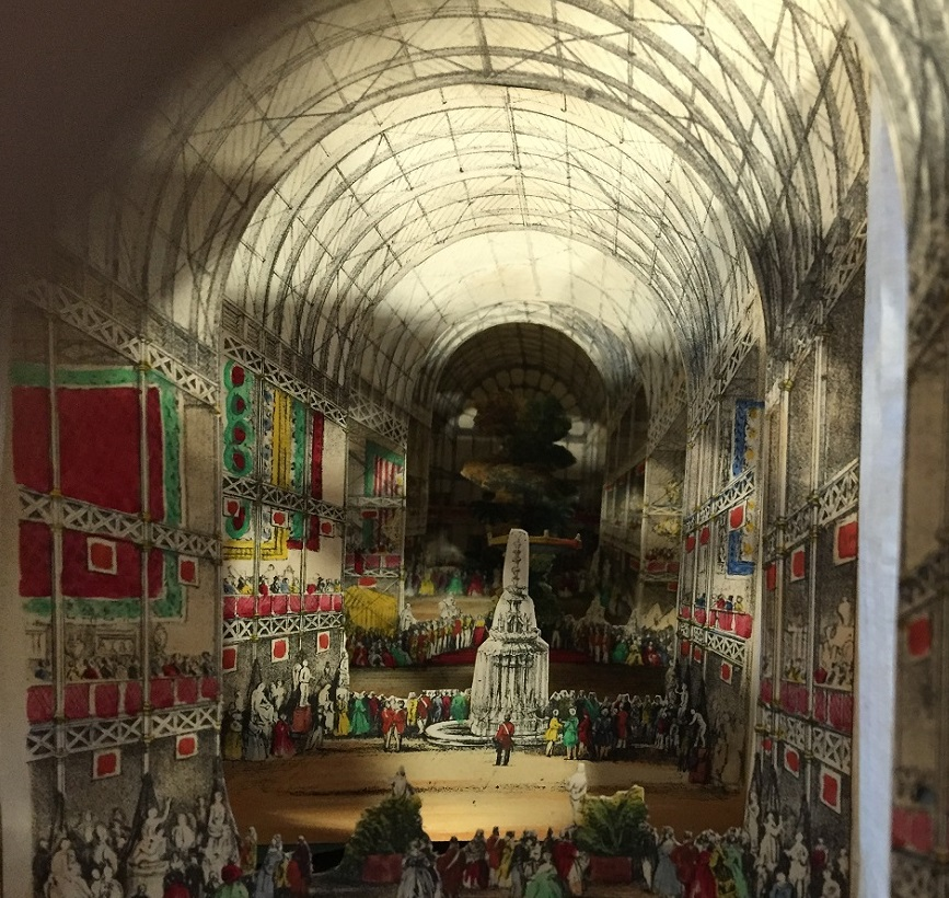 Lane's telescopic view of the ceremony of Her Majesty opening the Great Exhibition of All Nations, 1851