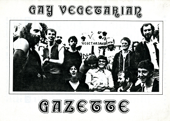Photo of Gay Vegetarian Gazette