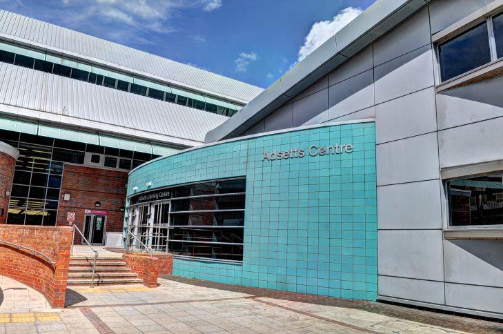Photo of Adsetts Library, City Campus, Sheffield Hallam University