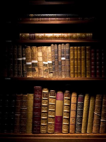 Rare books at Historic England Library