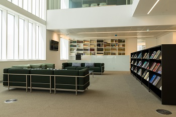 Photo of the Aga Khan Library, London