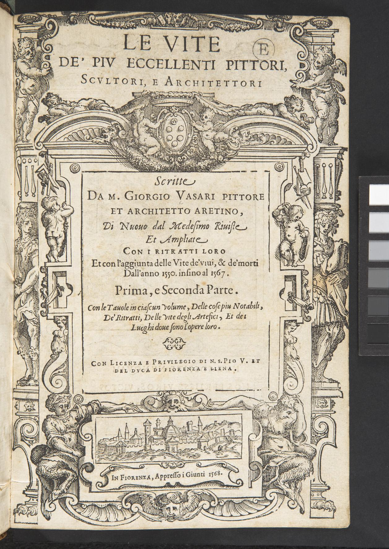 Giorgio Vasari, Le Vite de' più eccellenti pittori, scultori, e architettori (2nd edition, Florence, 1568)