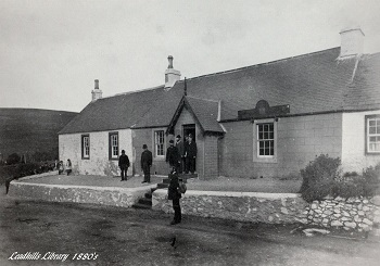 Leadhills Miners' Library in the 1880s