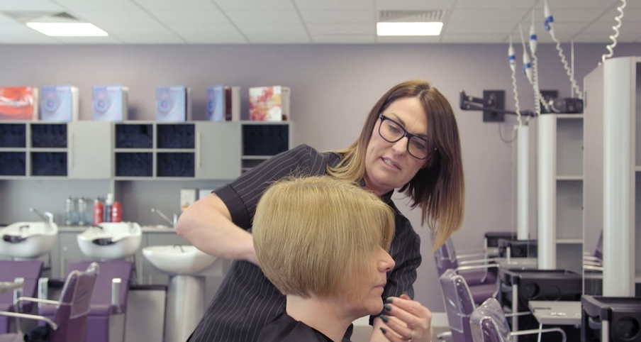 Hairdressing Training Jisc