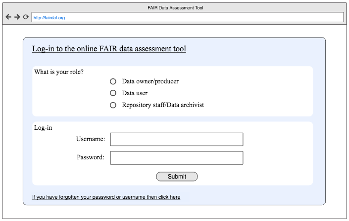 FAIR assessment tool