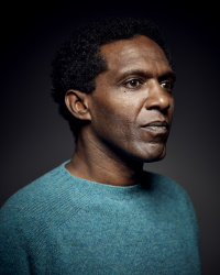 Our keynote speaker, Lemn Sissay