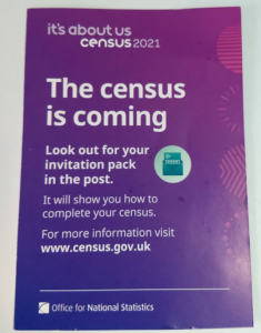 Census is coming